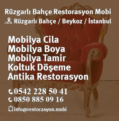 Beykoz Rüzgarlı Bahçe Marangoz Mobilyacı Istanbul Atolye
