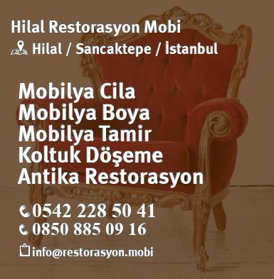 Sancaktepe Hilal Mobilya Cila Boya Koltuk Doseme Restorasyon Mobi